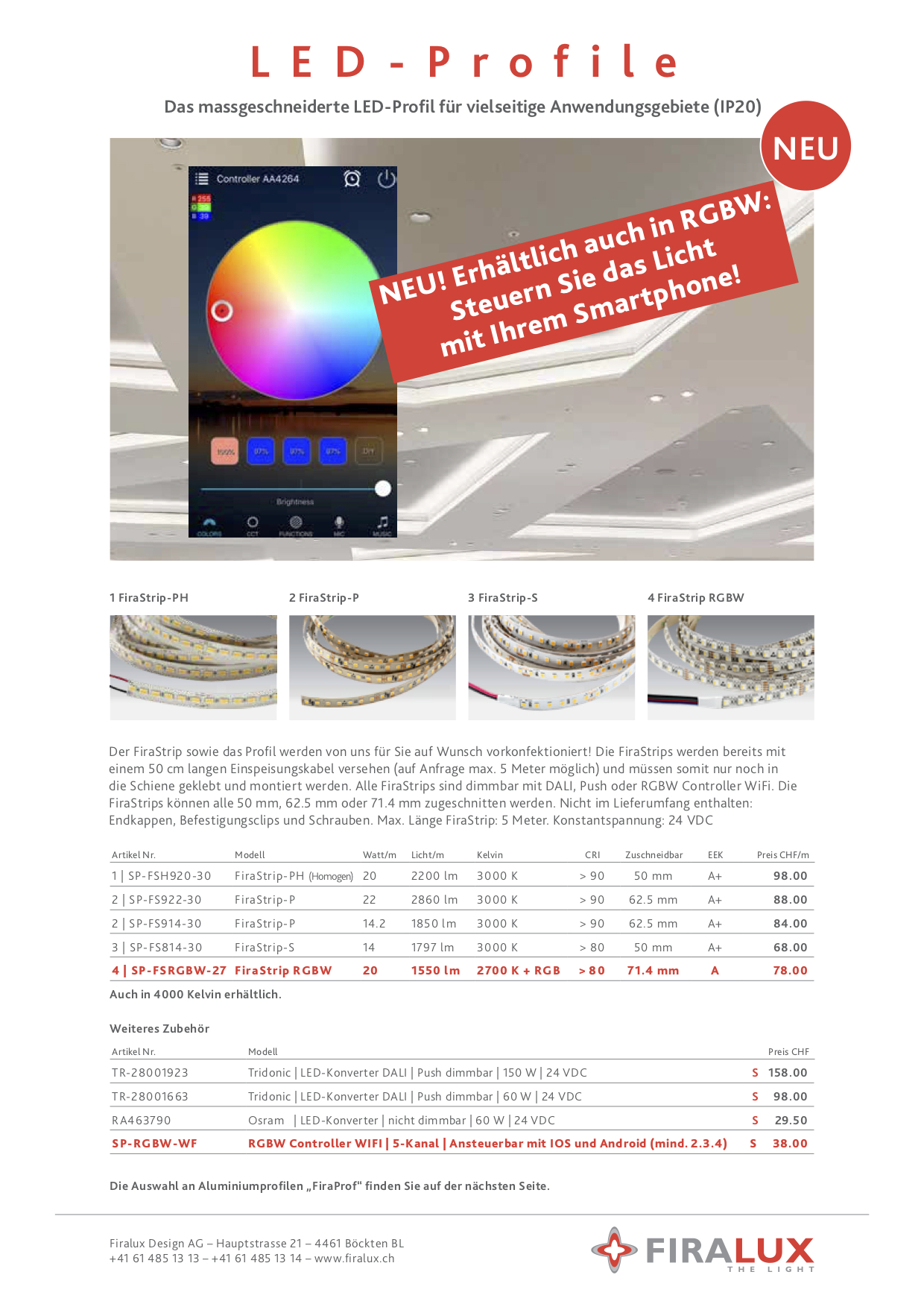LED Profile RGBW