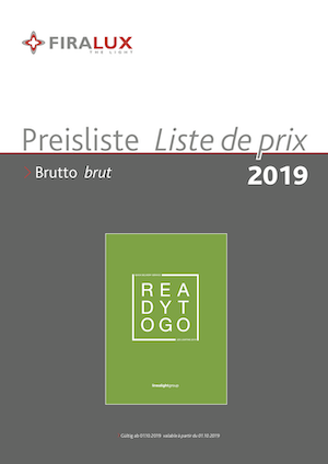 Preisliste Linea Light Group Readytogo 2019